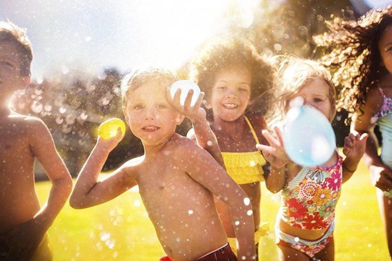 Juegos de agua para sobrevivir un verano sin piscina